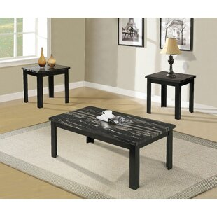 Lugenia 3 Piece Coffee Table Set