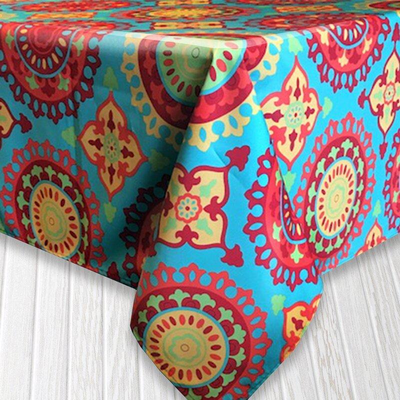 Bungalow Rose Ricardo Indoor/Outdoor Tablecloth & Reviews   Wayfair