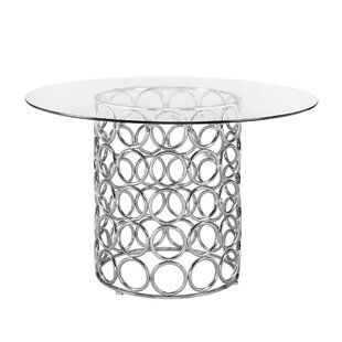 Keagan Modern Dining Table by Everly Quinn Today Only Sale