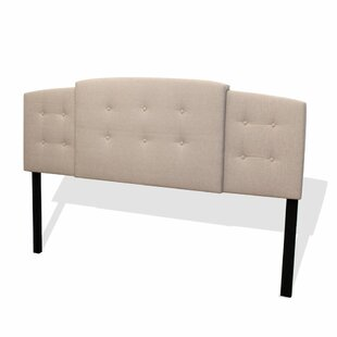 Dungan Button Tufted Expandable Upholstered Panel Headboard