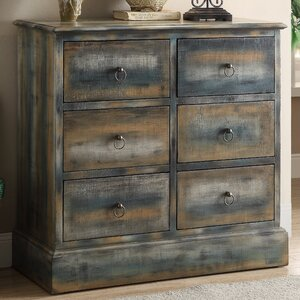 Glancio 6 Drawer Accent Chest