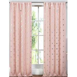 Thaddeus Abstract Blackout Thermal Grommet Curtain Panels (Set of 2)