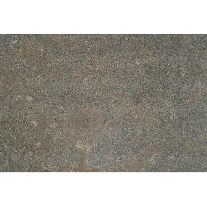 Nova Blue Azul Lagos Honed 18x18 Limestone Field Tile