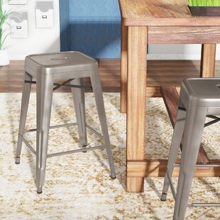 Dotsero Industrial 26 Metal Stool (Set of 4) by Trent Austin Design