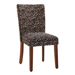Leopard Parsons Chair (Set of 2) by HomePop