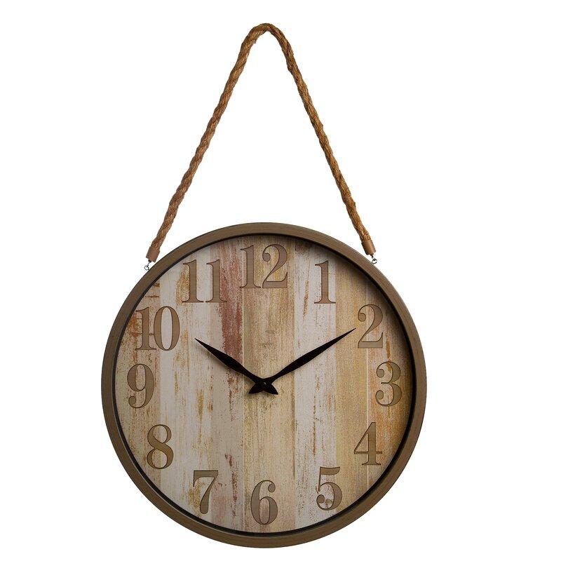 Breakwater Bay Mayon 16 Wall Clock Reviews Wayfair