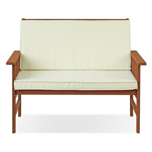 Arianna Outdoor Wood Garden Bench