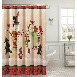 Famous Christmas Shower Curtains You'll Love | Wayfair FY69