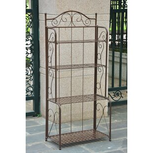 Nocona Wrought Iron Rack by Fleur De Lis Living