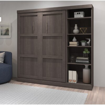 Awesome Walley Murphy Bed Brayden Studio Color White Size Fulldouble Customarchery Wood Chair Design Ideas Customarcherynet