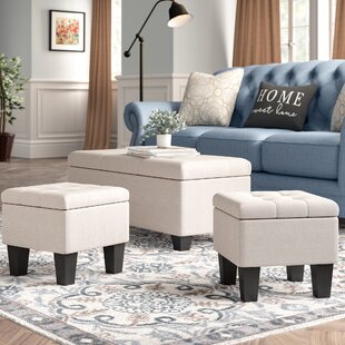 Velasquez Storage Ottoman (Set of 3)