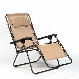 Adriana Reclining Zero Gravity Chair with Cushion