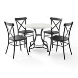 Briallen 5 Piece Dining Table by Williston Forge