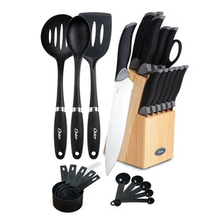 27 Piece Knife and Cooking Tool Set