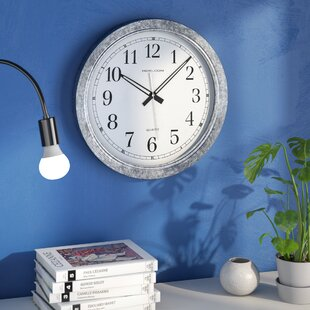 fresh idea whimsical clocks. Siggers Zinc 16  Wall Clock Kitchen Clocks You ll Love Wayfair
