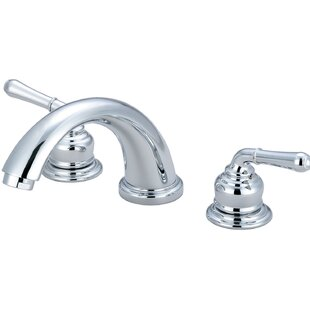 Review Double Handle Deck Mounted Tub Trim Set by Olympia Faucets