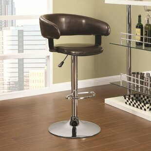 Adjustable Height Swivel Bar Stool Infini Furnishings