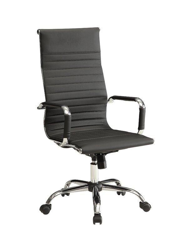 Modern Black Desk Chair
