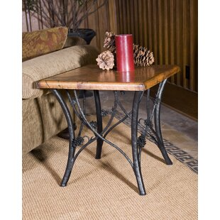 Buy clear Orrie Piney Woods End Table by Loon Peak