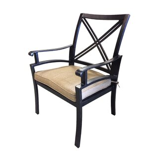 Aube Patio Dining Chair with Cushion