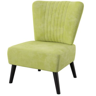 Mercury Row Mamora Side Chair Upholstery Color Lime
