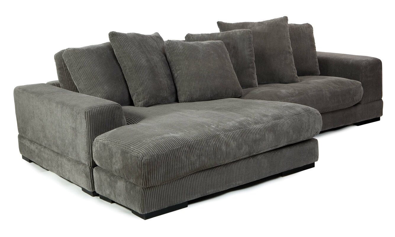 Pacha Reversible Sectional Reviews Joss Main ~ Reversible Sectional Sofa Chaise