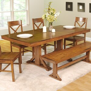 Belfort  Extendable Dining Table by Loon Peak