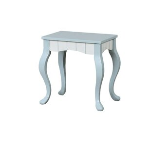 Bagby Vanity Stool by Charlton Home