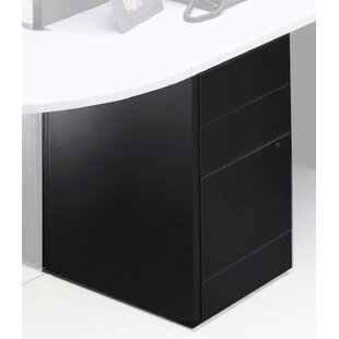 Adaptabilities 3-Drawer Freestanding File Pedestal