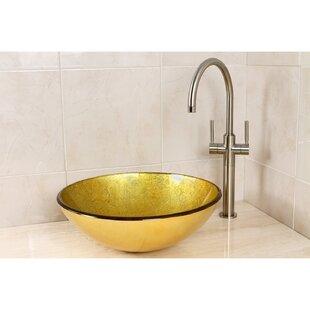Big Save Catania Circular Vessel Bathroom Sink ByKingston Brass