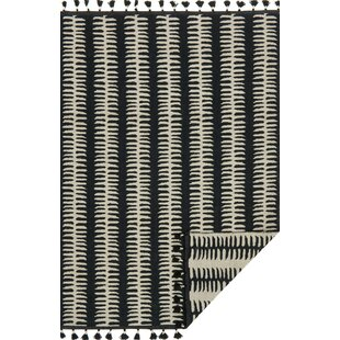 Purchase Cripe Hand-Woven Black/Gray Area Rug By Mercury Row