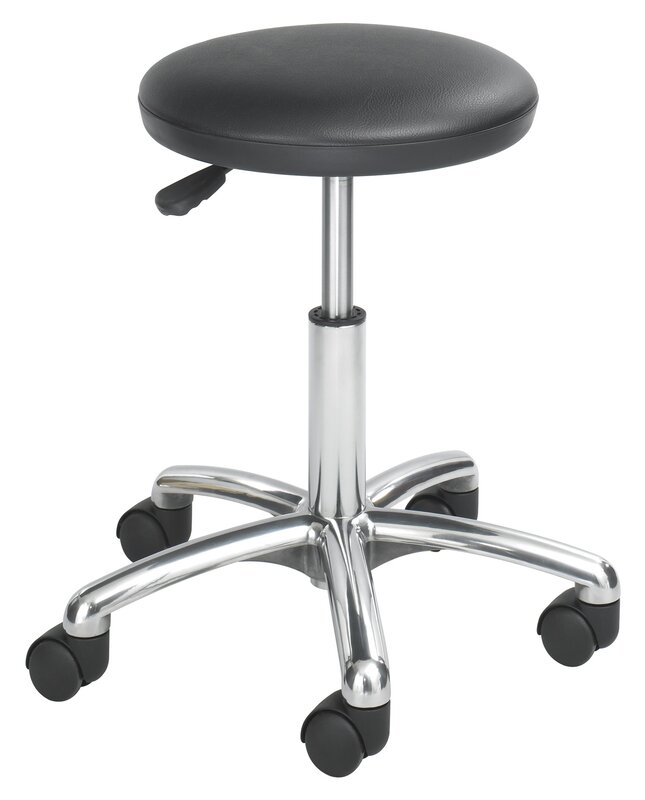 Height Adjustable Lab Stool with 2 Swivel Casters  sc 1 st  Wayfair & Safco Products Height Adjustable Lab Stool with 2 Swivel Casters ... islam-shia.org