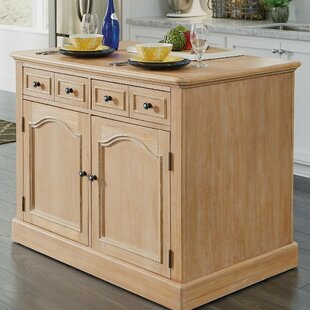Romford Kitchen Island Three Posts