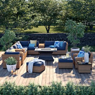 Waterbury 17 Piece Sectional Set with Cushions