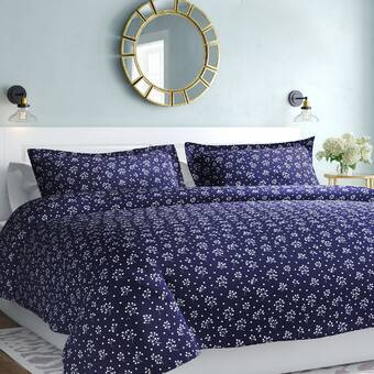 Canora Grey Laflamme Your Zone Dotted Reversible Comforter Set Wayfair