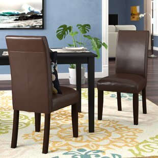 Check Prices Metrodora Upholstered Dining Chair (Set of 2) by Red Barrel Studio Reviews (2019) & Buyer's Guide