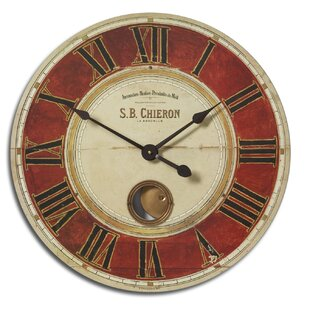 Salem Oversized 23 S.B. Chieron Wall Clock by Fleur De Lis Living