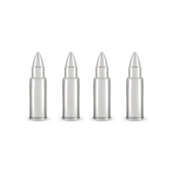 Foster & Rye Stainless Steel Bullet Whiskey Rocks & Reviews by Foster & Rye