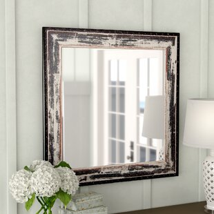 Best Reviews Terwood Rustic Seaside Wall Mirror By Rosecliff Heights