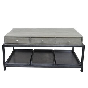 Morrissey-Bickerton 6 Drawer Coffee Table with Storage