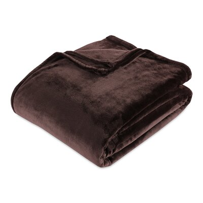 Berkshire Blanket VelvetLoft® Blanket Size: Twin, Color: Italian Roast
