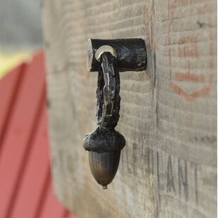 Acorn Drawer Ring Pull by Timber Bronze 53, LLC