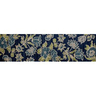 Hudson Navy Blue Area Rug by Charlton Home