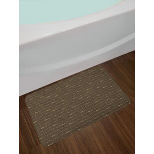 Dark Brown Bath Rug