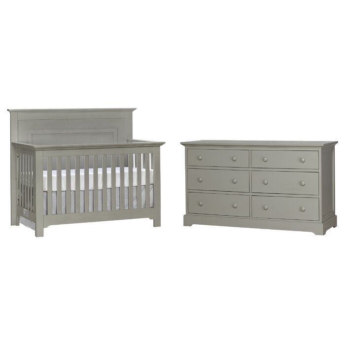 Chesapeake Convertible Standard 2 Piece Nursery Furniture Set
