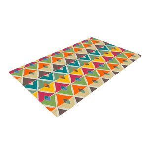 Julia Grifol My Diamond Green/Orange Area Rug