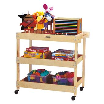 Jonti Craft Tower Double Sided 32 Compartment Cubby With Casters Reviews Wayfair