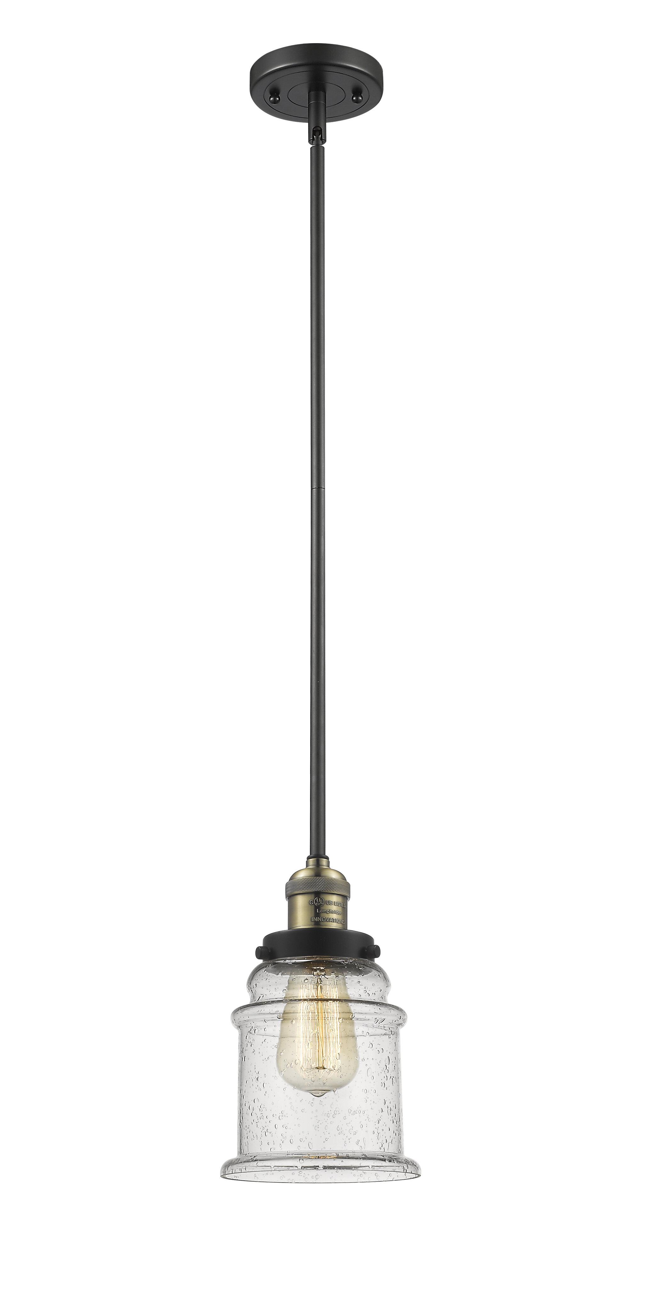 Longshore Tides Evalyn 1 Light Single Bell Pendant Wayfair
