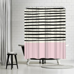 Leah Flores Bubblegum Single Shower Curtain