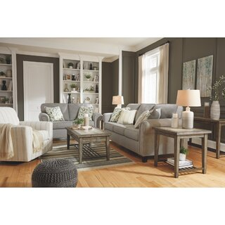Alandari 3 Piece Configurable Living Room Set by Winston Porter SKU:AC941111 Check Price